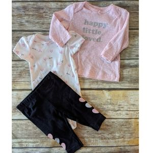 Nwt Carter's 3 piece outfit
